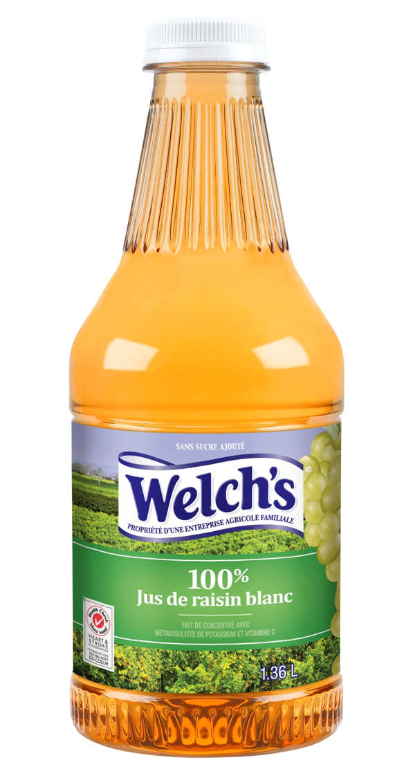 Jus De Raisin Blanc Welch's