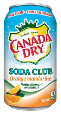 Soda Club Orange-Mandarine Canada Dry